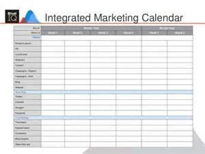 6 Month Marketing Plan Template by Building An Integrated Marketing Plan