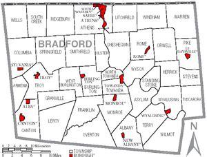 the seat towanda pa bradford county pennsylvania