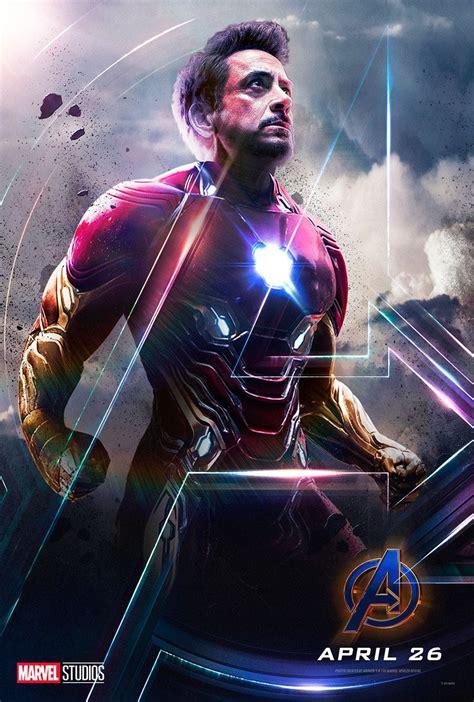tony stark robert downey jr iron man avengers