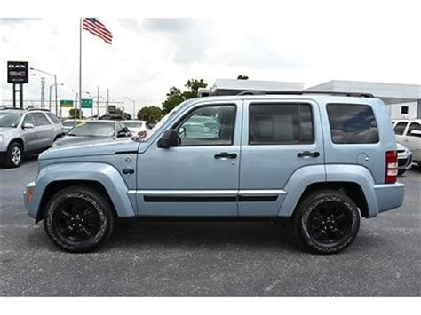 jeep liberty arctic blue purchase used 2012 jeep liberty 4x4 arctic edition winter