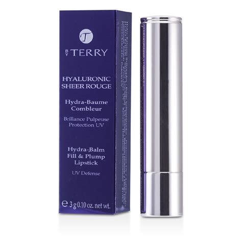 by terry hyaluronic sheer rouge 3 baby bloom by terry hydra hyaluronic sheer rouge hydra balm fill plump lipstick