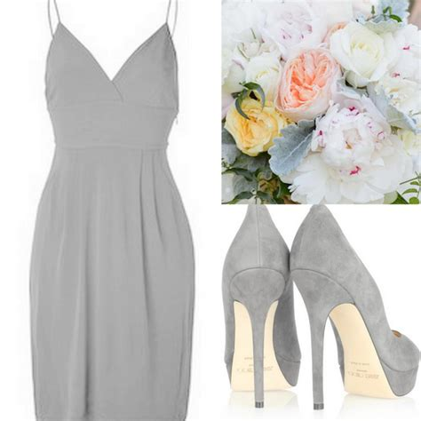 grey bridesmaid shoes aluminum gray bridesmaid dresses with bouquets