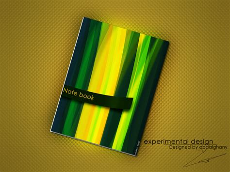 design cover laptop beautiful notebook cover design by abdelghany