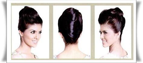 cara sanggul rambut pramugari model kebaya pernikahan batak hairstylegalleries com