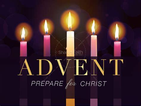 advent prepare for christ christmas powerpoint christmas