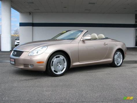 lexus sc430 gold 2003 egyptian sand pearl lexus sc 430 27920064 photo 2