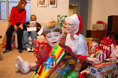 Opening Christmas Presents 12-25-2011-54   Josh Grenier ... Happy Kids Opening Christmas Presents