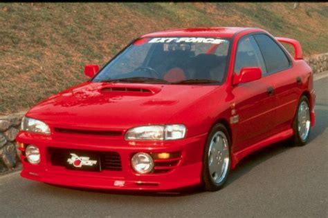 rearbumper for subaru impreza 1994 1998 avb sports car tuning spare parts subaru impreza hoods body kits autos post