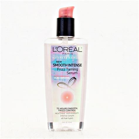 L Oreal Smooth Anti Frizz Serum l oreal smooth frizz taming serum rank style