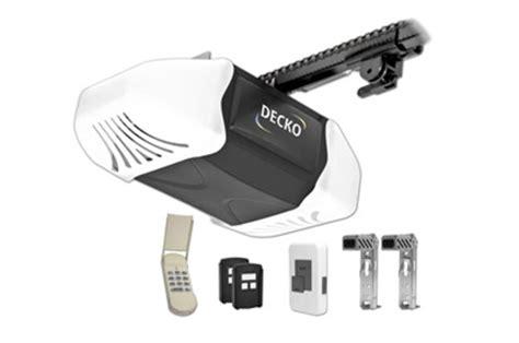 Heavy Duty Garage Door Opener Decko 24300 Power Heavy Duty Reduced Noise Chain Drive Garage Door Opener