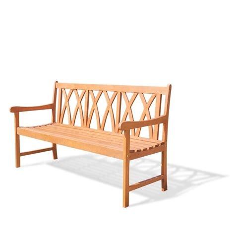 natural bench outdoor bench in natural v1635