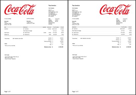 invoice template with logo invoice template zuora rabitah net