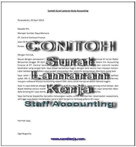 3 contoh surat lamaran kerja staff accounting suratkerja