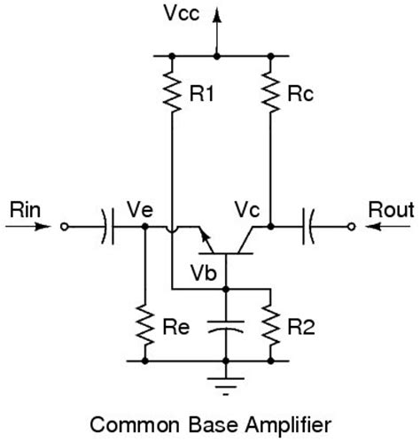 transistor lifier common base common base lifier