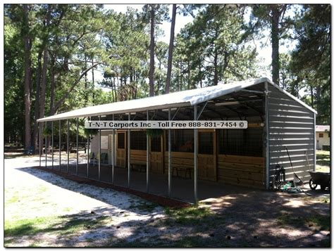 Metal Carports And Barns viewing a thread inexpensive barn ideas anyone turn one of these metal carports into a barn