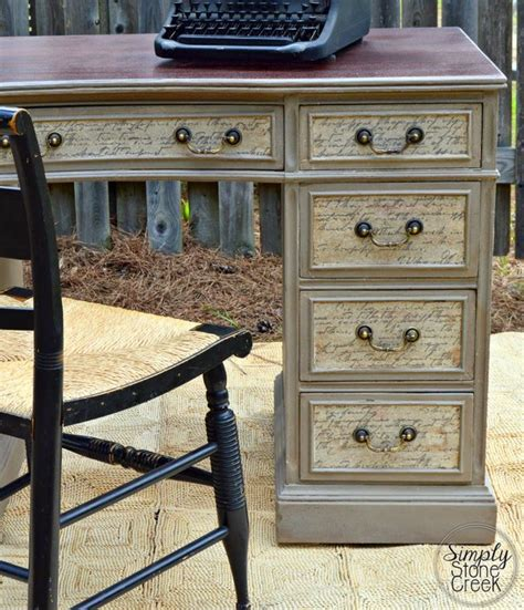 Decoupage A Desk - 17 best ideas about desk makeover on desk to