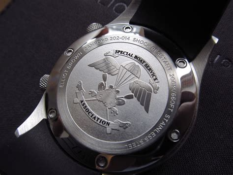 special boat service association elliot brown develops watch for special boat service