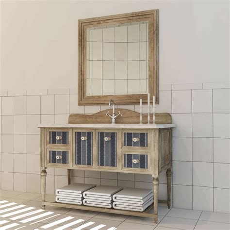 retro bathroom cabinet vintage bathroom cabinet 3d model max obj fbx