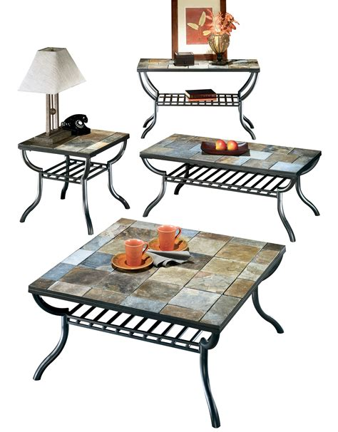 Antigo Coffee Table Furniture Antigo 4pc Coffee Table Set The Home