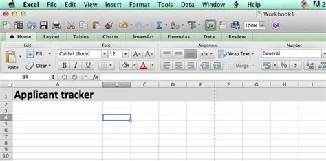 Building A Job Applicant Tracking Spreadsheet Candidate Tracking Excel Template