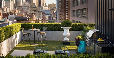 Rooftop Patio Design Gardens
