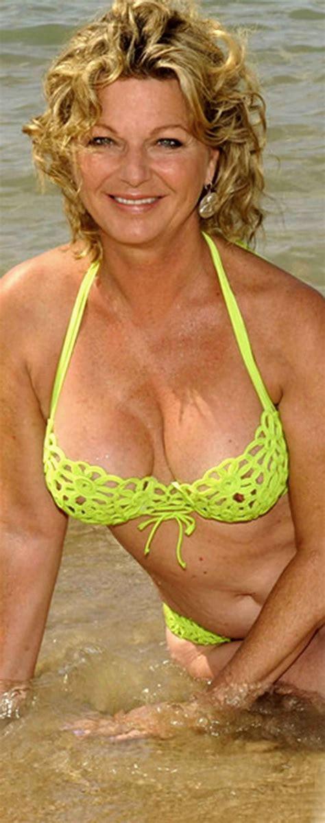 middle aged women in bathing suits jeane manson sexy mature pinterest swimwear