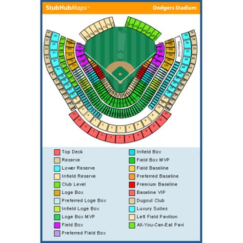 dodger stadium parking map dodger stadium food map adriftskateshop