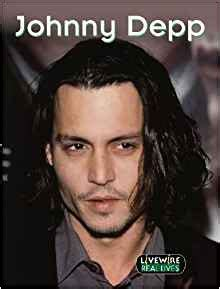 johnny depp biography amazon livewire real lives johnny depp pack of 6 amazon co uk