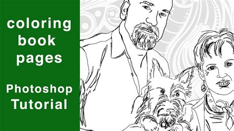 coloring pages to make a book photoshop tutorial coloring book pages on make your photos