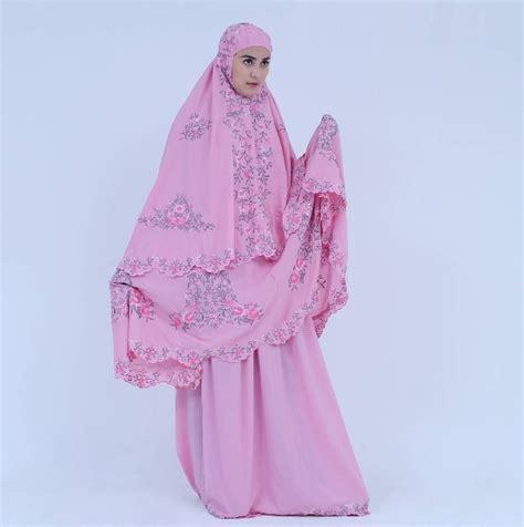 Mukena Behel Oishi Putih Pelangi mukena raphsody pink 187 mukena cantik baju muslim
