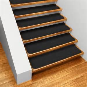 Black Stair Treads by L Stairtreadsskid Black Sub1 Jpg