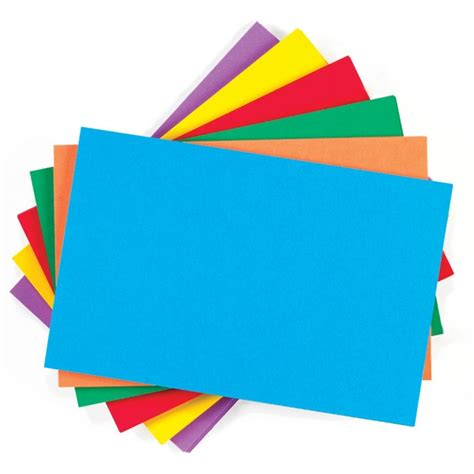 color card color code index cards calloway house