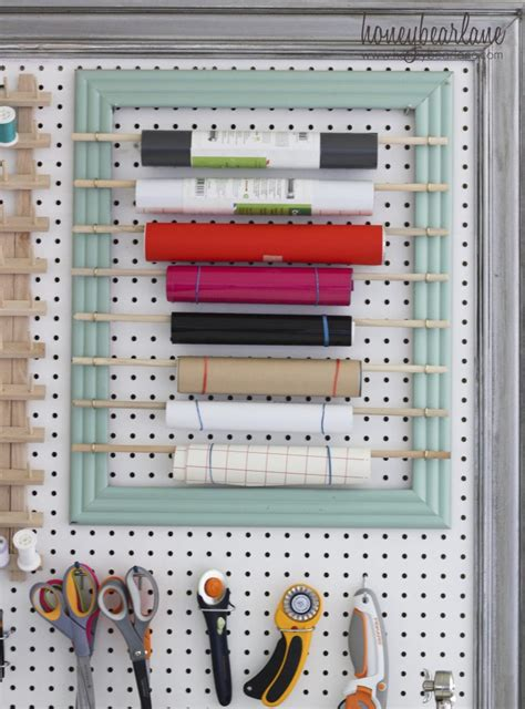 craft room pegboard large pegboard for craft room organization