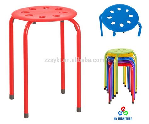 Small Plastic Stool by Plastic Stools Stackable