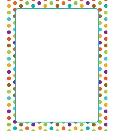 Printer Bordir free printable border paper for teachers template