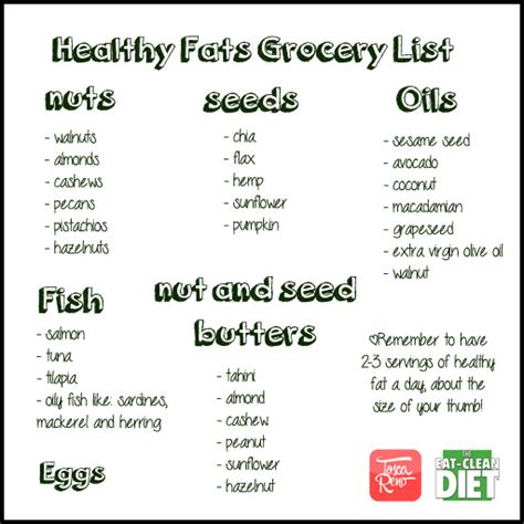 list 2 healthy fats lifestyle changes clean youth are awesome
