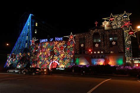 christmas lights st pauls hospital vancouver canada