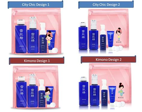 Kit Wash Glow Pouch 2x400ml choypengism the unboxing of kose s sekkisei