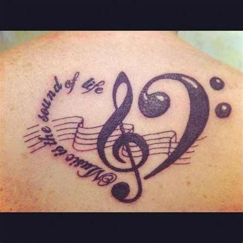 music cross tattoos 17 best images about tattoos that are actually neat on