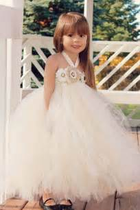 country wedding flower dresses country couture flower tutu dress shabby chic