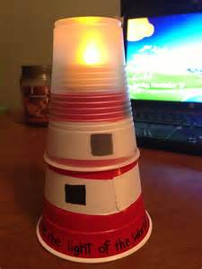 Craft Light Best 25 Lighthouse Craft Ideas On Pinterest Beach Rocks