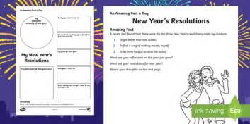 new year fact sheet ks1 new year s resolutions worksheet activity sheet