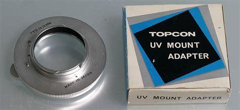Adaptor Uv 37 topcon uv mount adaptor boxed tokyo kogaku collection