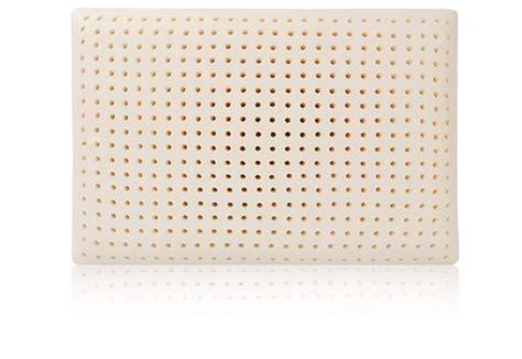 latex bed pillow king queen full latex bed pillow by blu sleep products