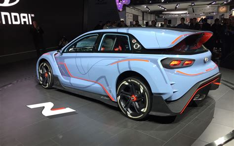 future models hyundai rn30 concept a forestate of future n models the