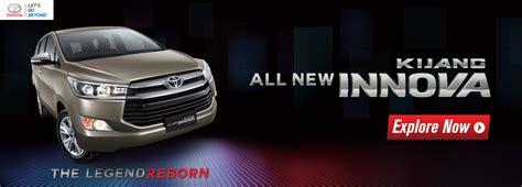 Lu Mobil Innova harga toyota innova di bengkulu dealer toyota bengkulu