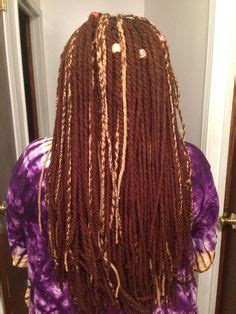 steps for doing yarn dreads yarn wraps how to do yarn dreads on your own hair