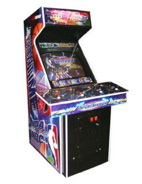 Nfl Blitz Arcade Cabinet by Blitz 2000 Nba Showtime Arcade For Sale Vintage