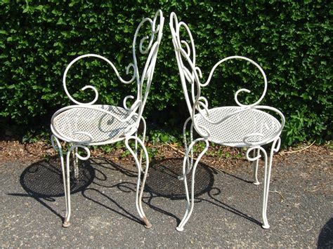 metal lawn chairs vintage antique metal lawn chairs antique furniture