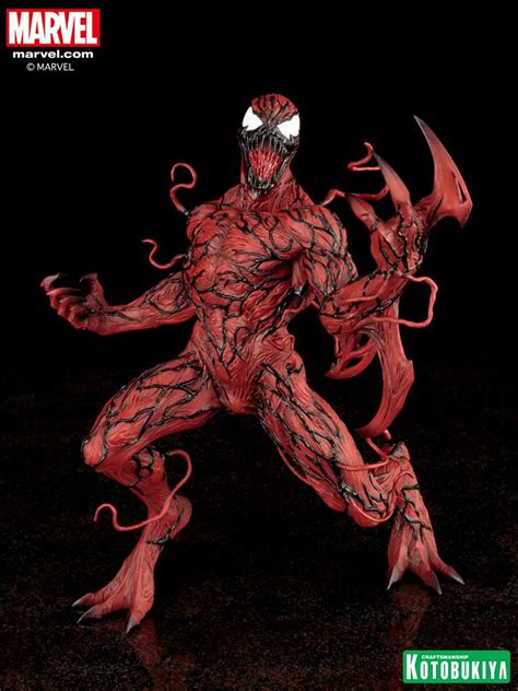 Kotobukiya Mk208 Artfx Venom Marvel kotobukiya marvel carnage artfx statue marvel comics collectibles by